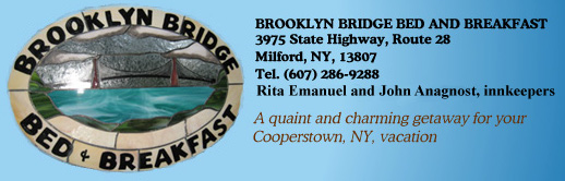 Brooklyn Bridge Bed and Breakfast Headline