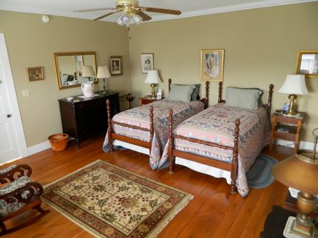 Picture of bed and breakfast guest room at Brooklyn Bridge B&B, Cooperstown NY